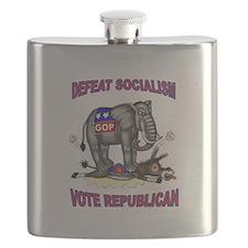 GOP VICTORY Flask