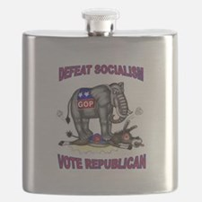 GOP VICTORY Flask