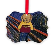 The Redskins Fan Scream Ornament