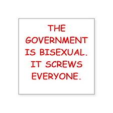 big bad government Sticker