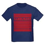 Hamburger Kids Dark T-Shirt