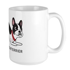 Boston terrier fart problems Ceramic Mugs