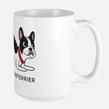 Boston terrier fart problems Ceramic Mugs