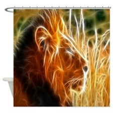 Leo the Lion Shower Curtain