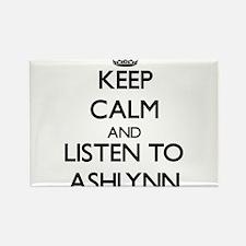 Keep Calm and listen to Ashlynn Magnets