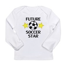 Future Soccer Star Long Sleeve T-Shirt