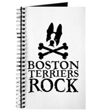 Boston Terriers Rock Journal