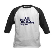 July 8 Birthday Tee