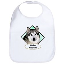 Malamute Diamond Bib