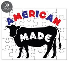 AMERICAN MADE cow or beef Puzzle
