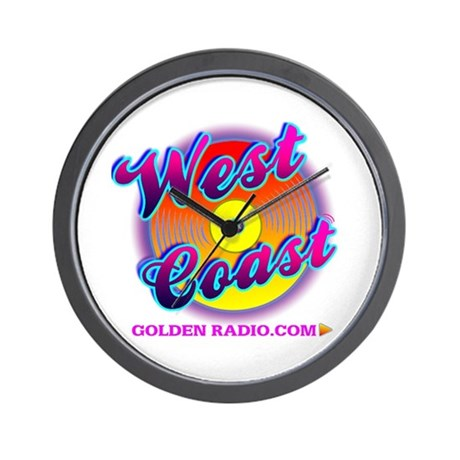 West Coast Sweet Logo Wall Clock