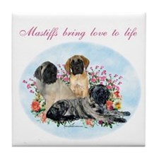 Mastiffs bring Tile Coaster