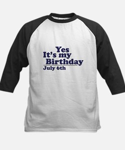 July 6 Birthday Tee