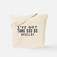 Tang Soo Do Skills Designs Tote Bag