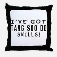 Tang Soo Do Skills Designs Throw Pillow