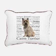 Cairn Terrier Traits Rectangular Canvas Pillow