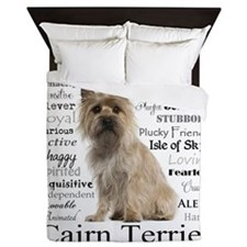 Cairn Terrier Traits Queen Duvet