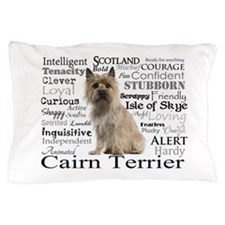 Cairn Terrier Traits Pillow Case