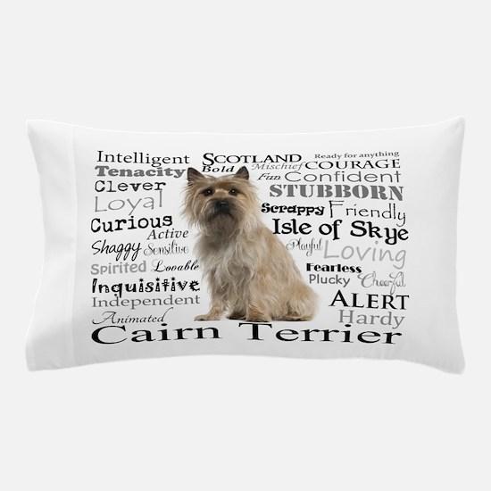 Cairn Terrier Traits Pillow Case