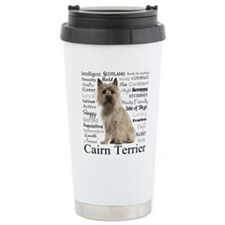 Cairn Terrier Traits Travel Mug
