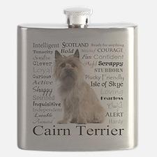 Cairn Terrier Traits Flask