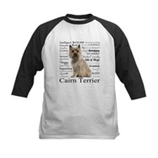 Cairn Terrier Traits Baseball Jersey
