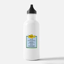 Pisces-Zodiac Sign Water Bottle