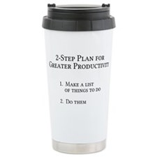How to get things done Travel Mug