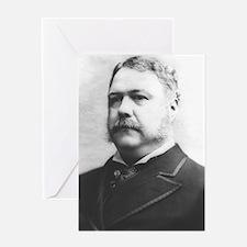 Chester A. Arthur Greeting Card