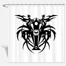 tribal cross Shower Curtain