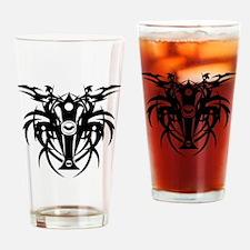 tribal cross Drinking Glass
