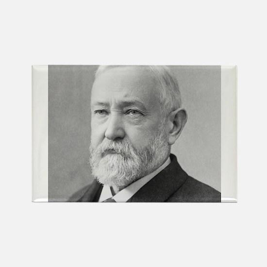 Benjamin Harrison Rectangle Magnet