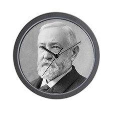 Benjamin Harrison Wall Clock