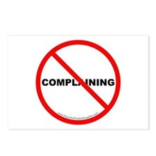 Stop Complaining Postcards (Package of 8)