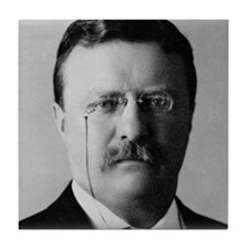 Theodore Roosevelt Tile Coaster