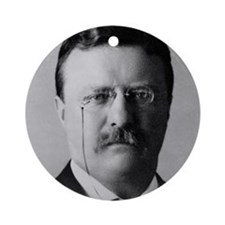 Theodore Roosevelt Ornament (Round)