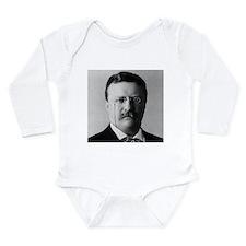 Theodore Roosevelt Long Sleeve Infant Bodysuit
