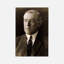 Woodrow Wilson Rectangle Magnet