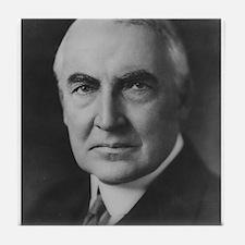 Warren G. Harding Tile Coaster