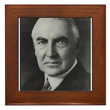 Warren G. Harding Framed Tile