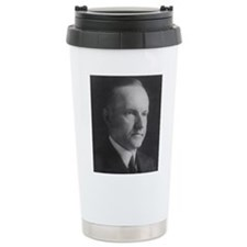 Calvin Coolidge Thermos Mug