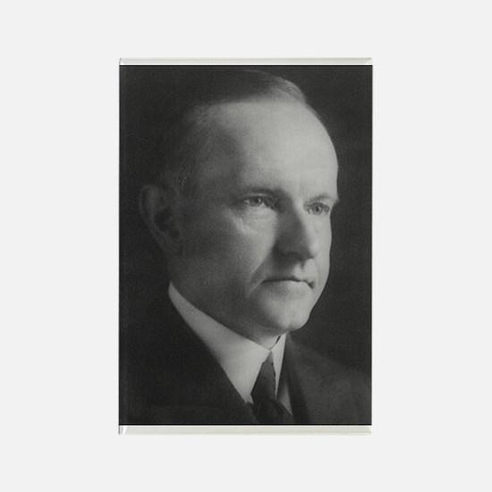 Calvin Coolidge Rectangle Magnet
