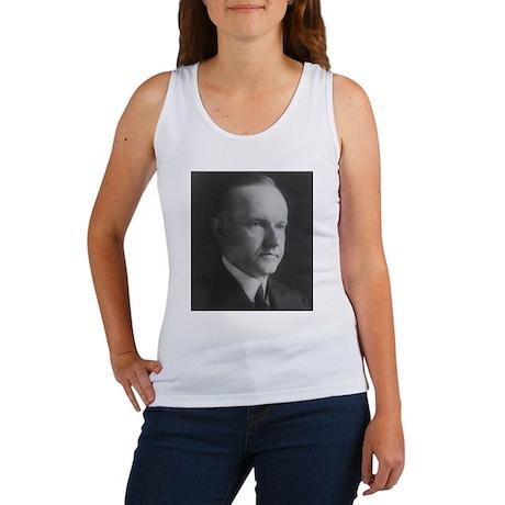 Calvin Coolidge Women's Tank Top