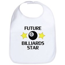 Future Billiards (Eight Ball) Star Bib