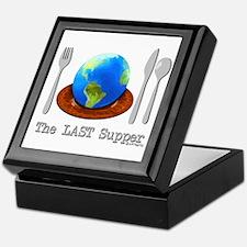 Last Supper - Dinner (color) Keepsake Box