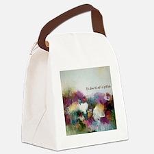 Waltz of gratitude Canvas Lunch Bag