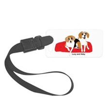 Lucy and Abby Luggage Tag