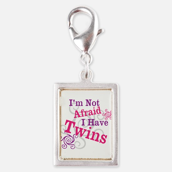 Im Not Afraid I Have Twins Charms