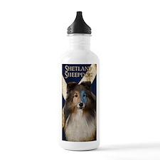 Braveheart Sheltie Sports Water Bottle