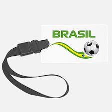 Soccer Brasil Luggage Tag